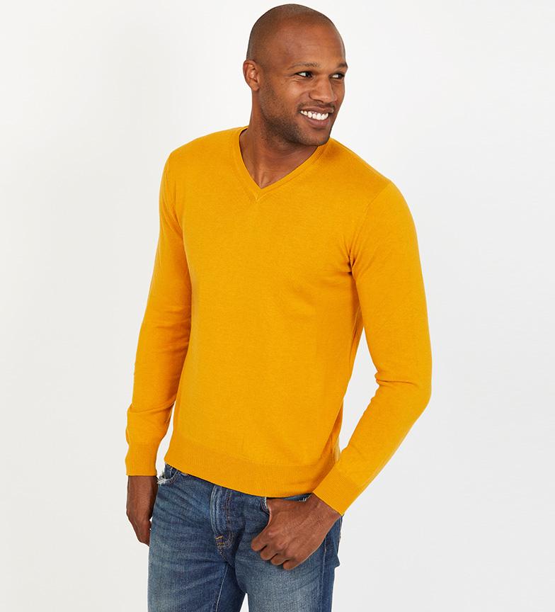 Comprar Jack Stuart Fine knit sweater Cameron mustard