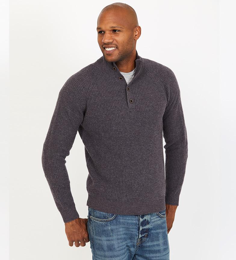 Comprar Jack Stuart Rib knit jumper Kylan gray