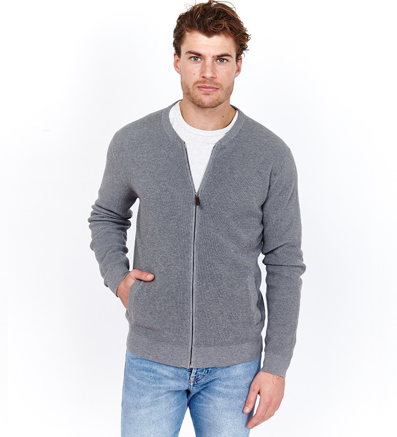 Comprar Jack Stuart Knit jacket Mel gray