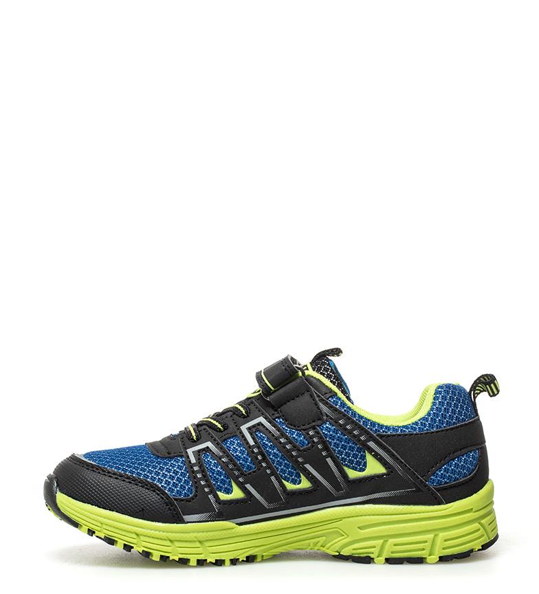 J-Hayber-Chaussures-Rilina-noires-et-orange-Enfants-Bleu-Multicolore-Tissu miniature 6