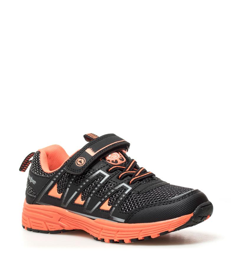 J-Hayber-Chaussures-Rilina-noires-et-orange-Enfants-Bleu-Multicolore-Tissu miniature 10