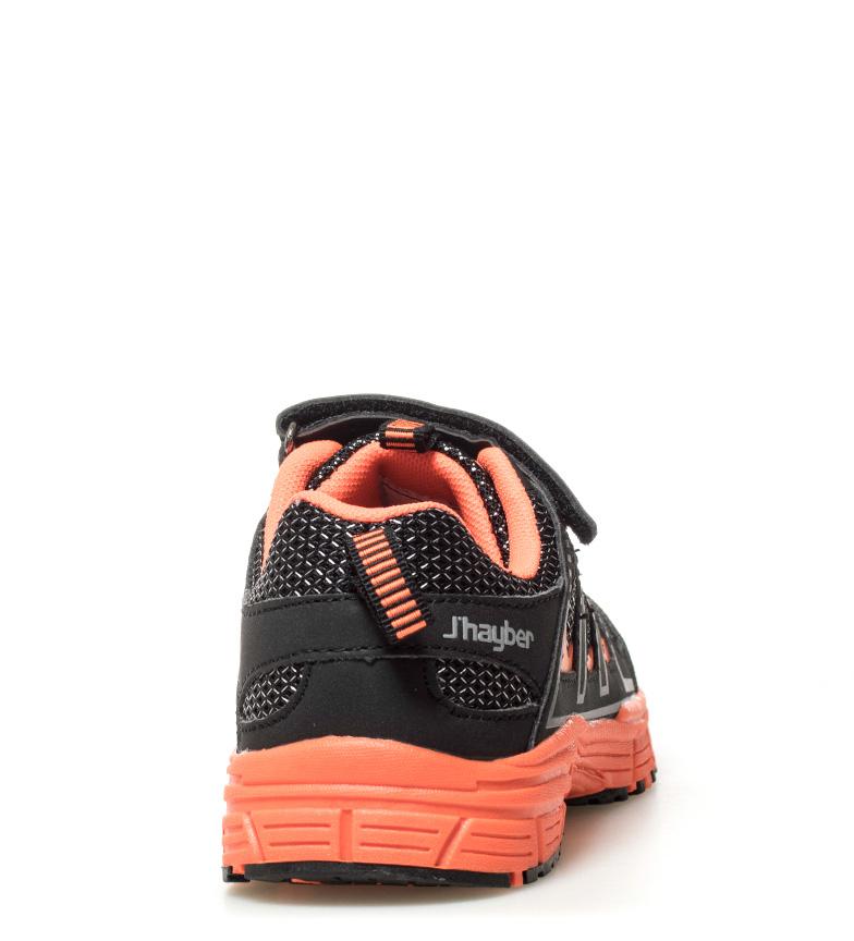 J-Hayber-Chaussures-Rilina-noires-et-orange-Enfants-Bleu-Multicolore-Tissu miniature 12