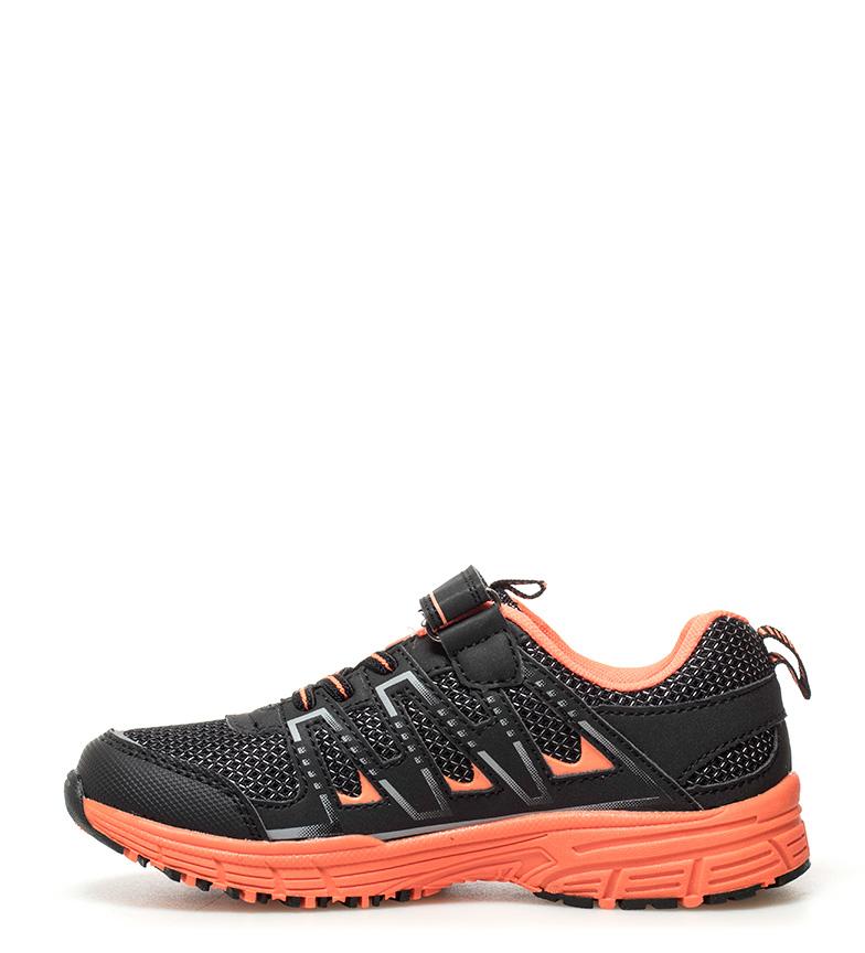 J-Hayber-Chaussures-Rilina-noires-et-orange-Enfants-Bleu-Multicolore-Tissu miniature 13