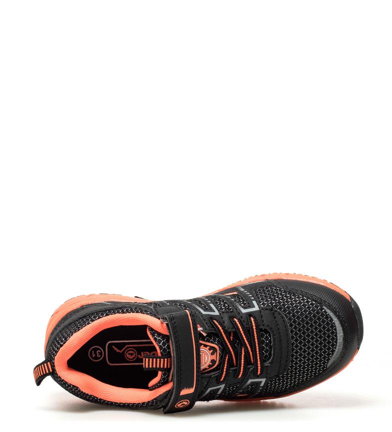 J-Hayber-Chaussures-Rilina-noires-et-orange-Enfants-Bleu-Multicolore-Tissu miniature 14