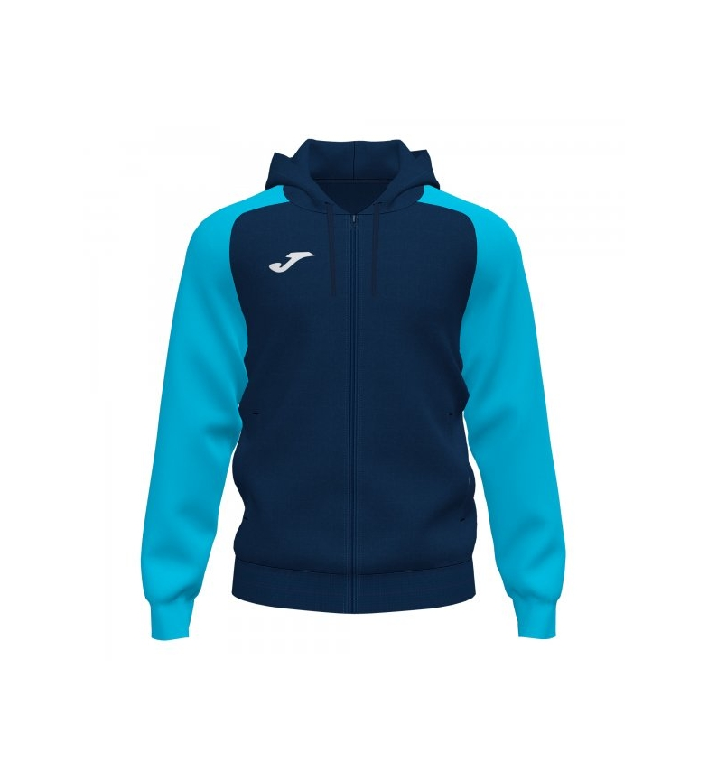 Comprar Joma  Academy IV Zip-Up Hooded Jacket navy, turquoise