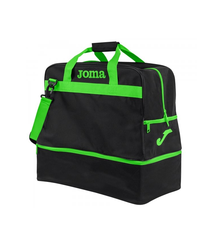Comprar Joma  Training Bag III black, green -48x49x32cm