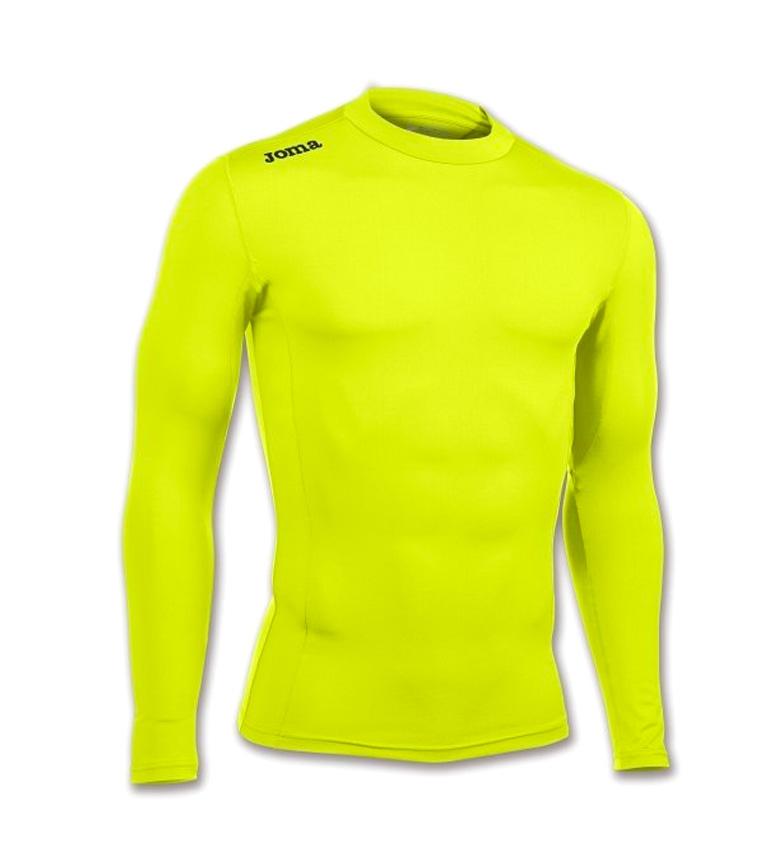 Comprar Joma  BRAMA FLUOR camicia gialla ACADEMY M / L
