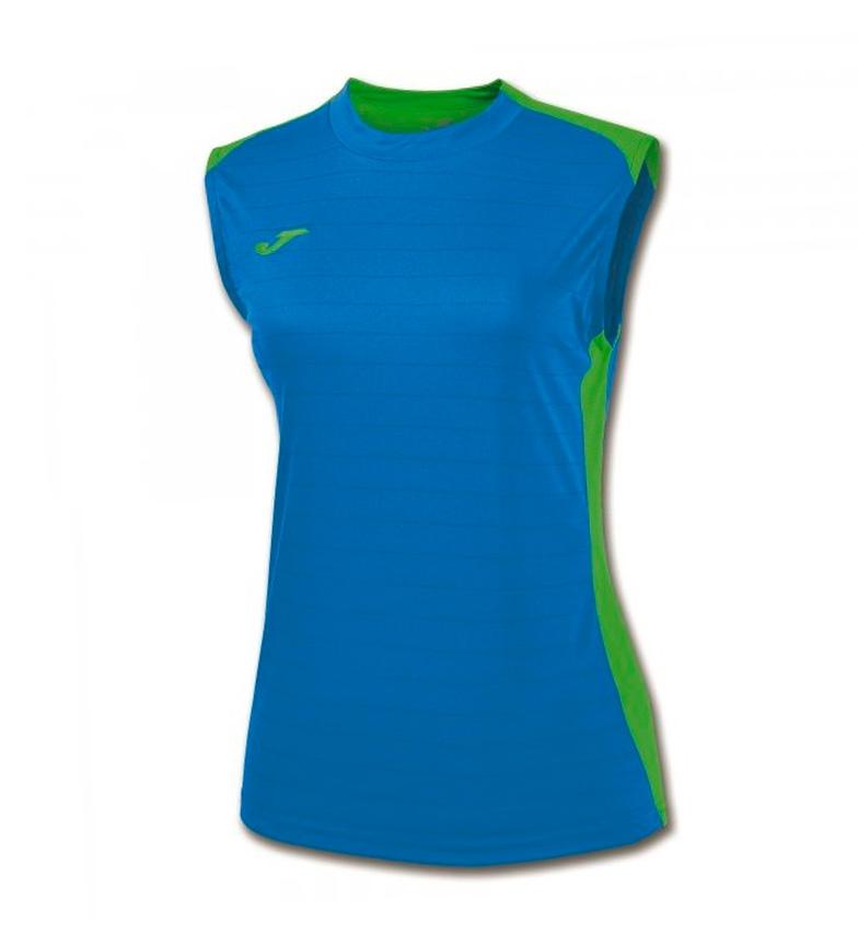 S Camiseta verd Royal m Mujer Fluor Joma Campus Ii QrCdxtshB