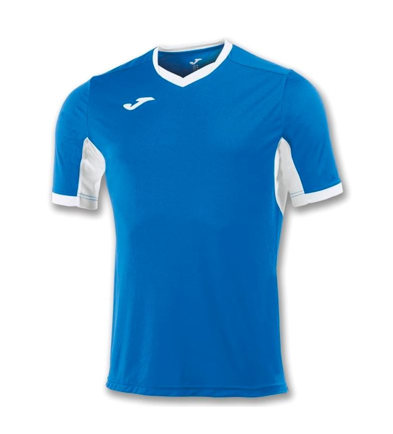 Joma Camiseta Mester Iv Azul-blanco M / C engros-pris for salg utløp online gratis frakt populær FfF2lbVg