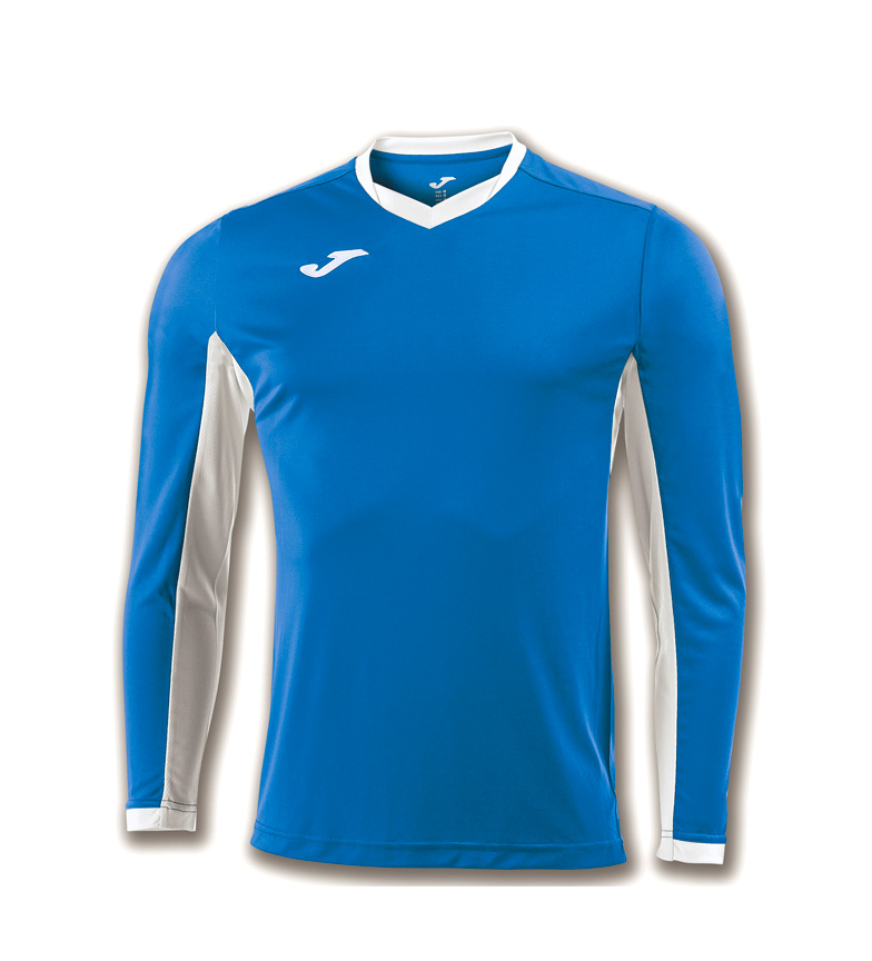 Comprar Joma  Camiseta Champion IV ML azul, blanco