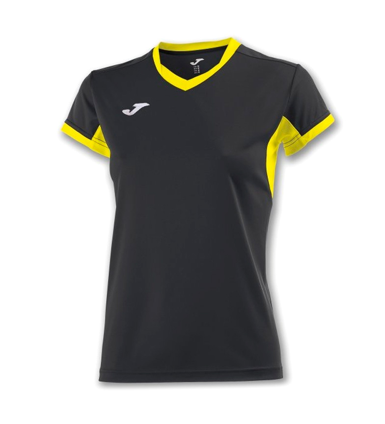Joma CAMISETA CHAMPION IV AMARILLO-ROYAL M/C MUJER