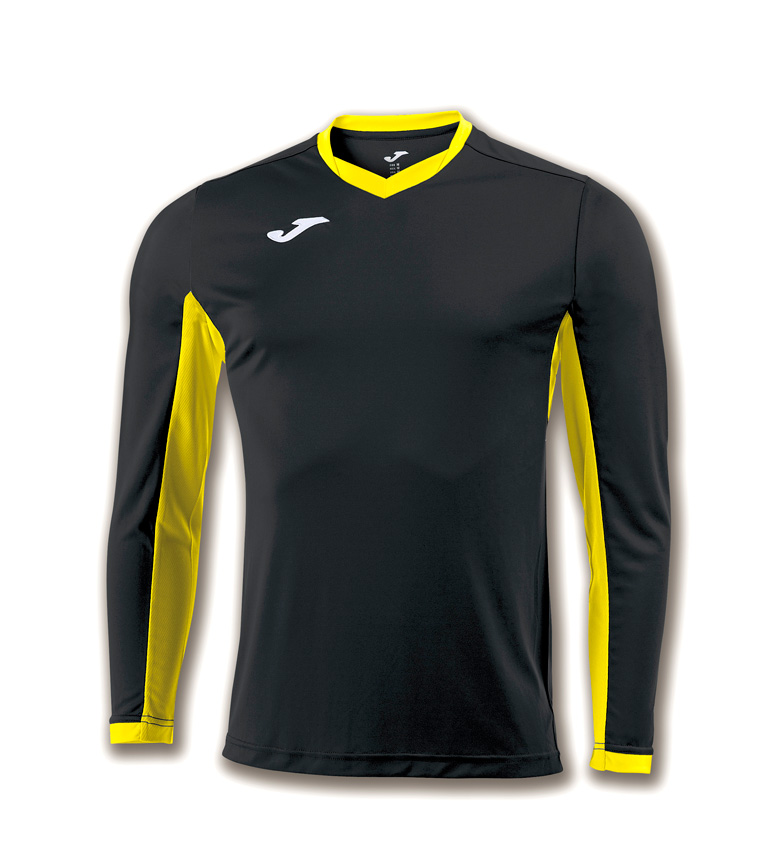 Comprar Joma  SHIRT CHAMPION IV BLACK-YELLOW M / L
