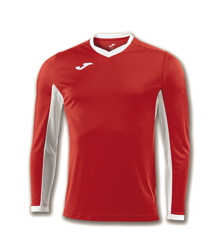 Comprar Joma  Camiseta Champion IV ML rojo, blanco