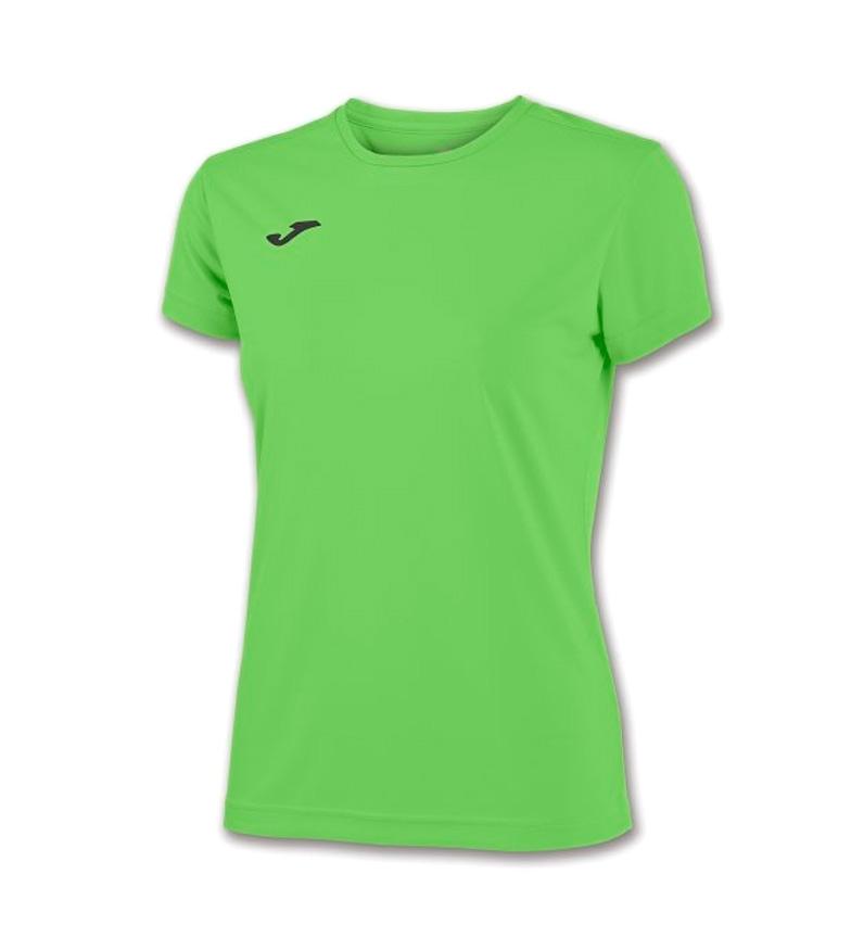 Comprar Joma  T COMBI donna verde FLUOR M / C
