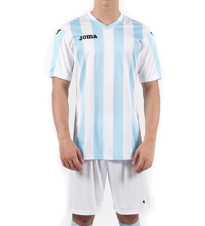 Joma Camiseta Copa celeste, blanco