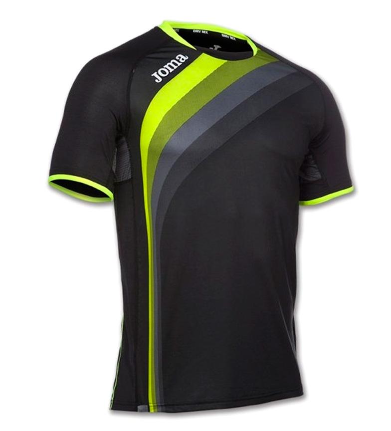 V Joma Elite Joma Camiseta Negro hCoBsrtQdx
