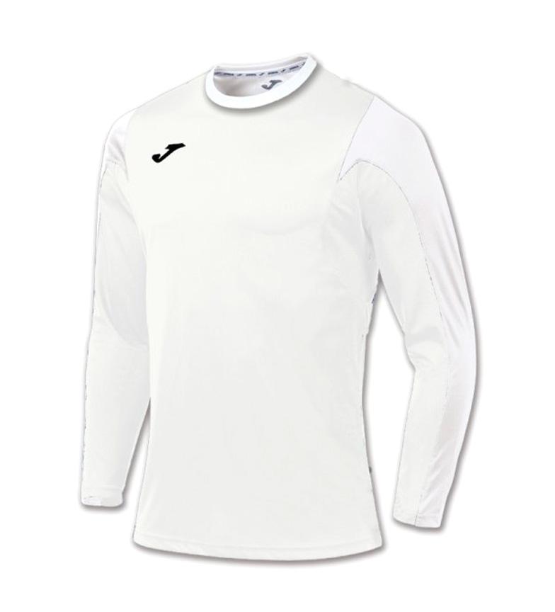 Joma  Camiseta Estadio Manga Larga blanco