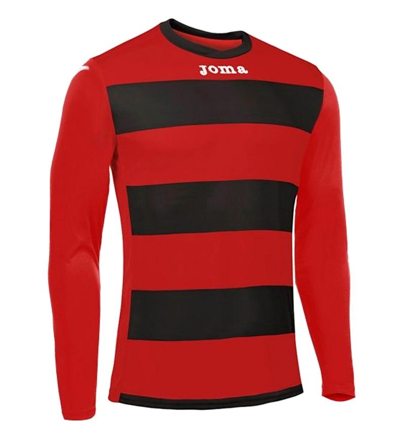 Comprar Joma  Europe III red, black t-shirt
