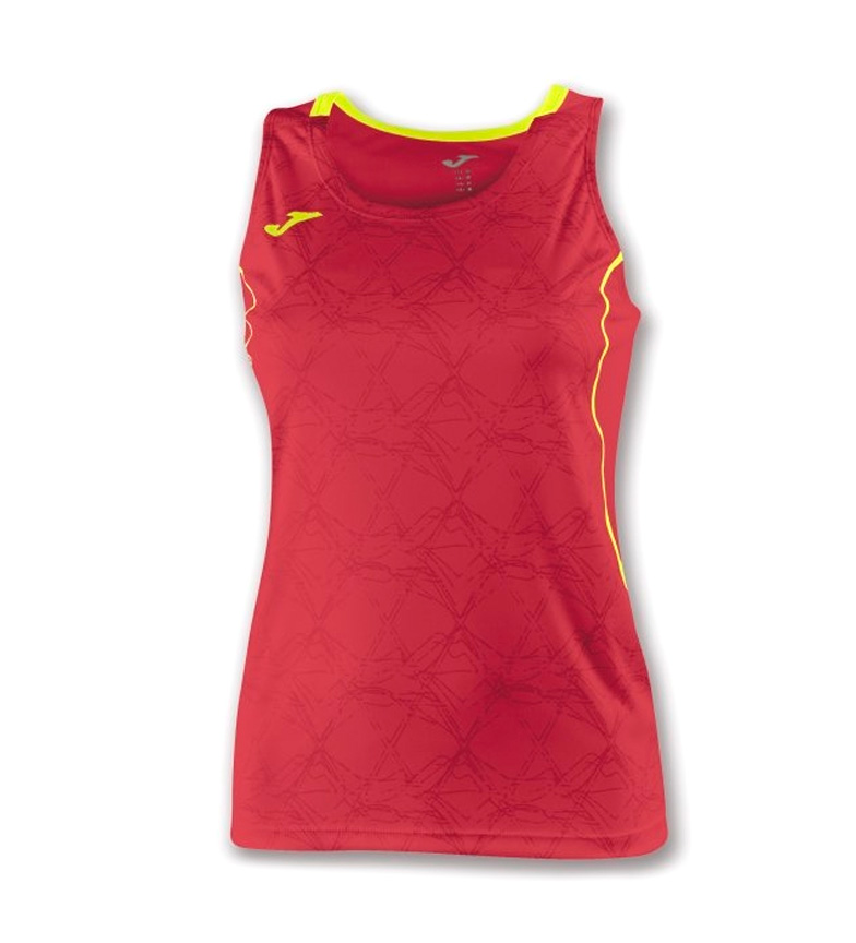Comprar Joma  T-SHIRT OLIMPIA S / M RED-YELLOW WOMAN