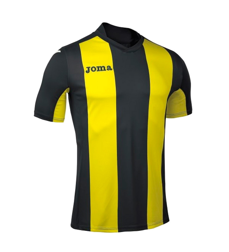 Comprar Joma  T-SHIRT BLACK-YELLOW PISA M / C