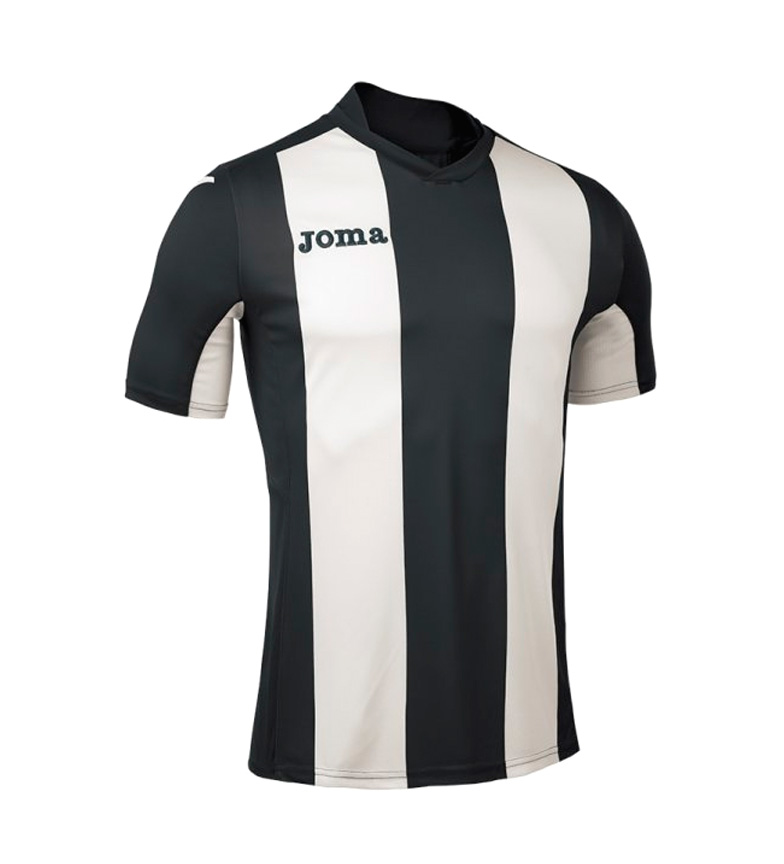 Joma Negro blanco c Pisa M Camiseta QCtsdhr