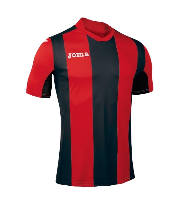 Comprar Joma  Camiseta Pisa M/C negro, rojo