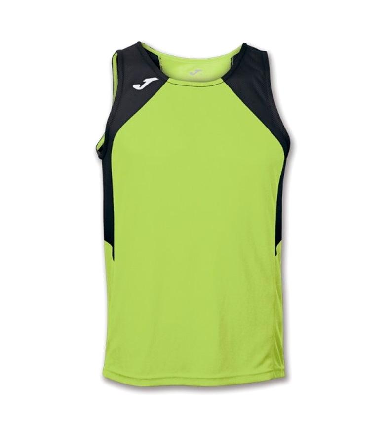 Camiseta m Joma S negro Verde Record 5RjLq34A