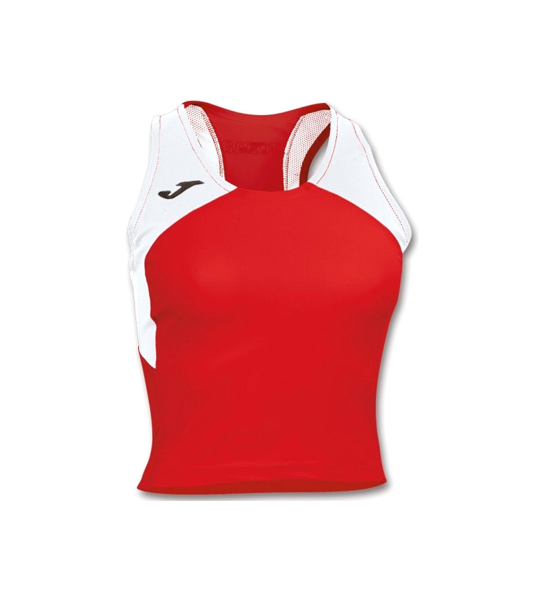 Joma CAMISETA RECORD WOMAN ROJO-BLANCO S/M