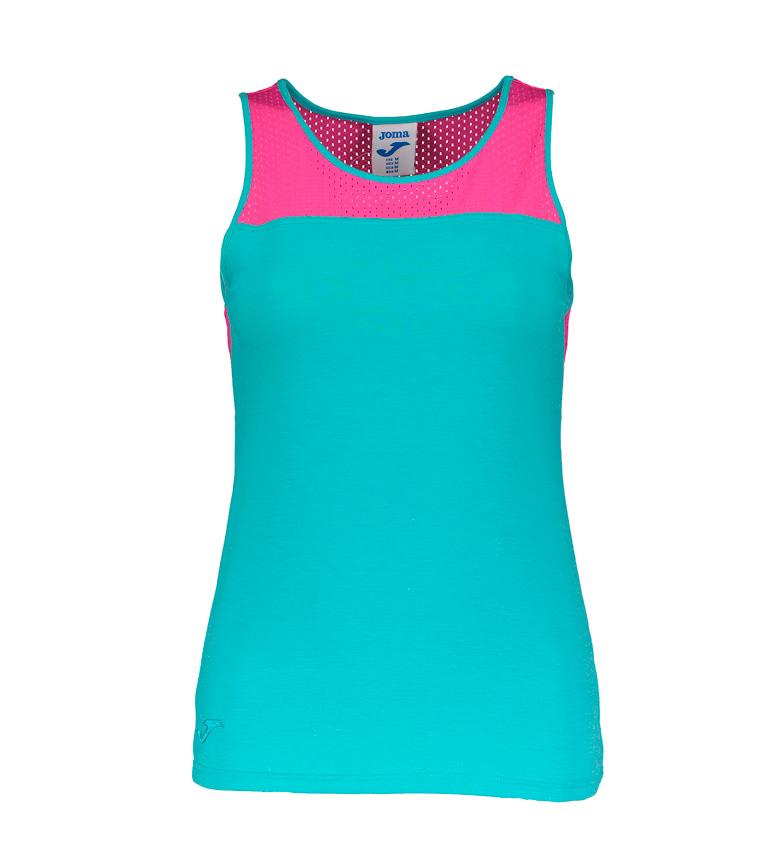 Camiseta Turquesa rosa Joma S m qVUzSMpG