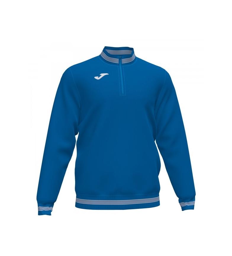 Comprar Joma  Sweatshirt 1/2 zip Campus III bleu