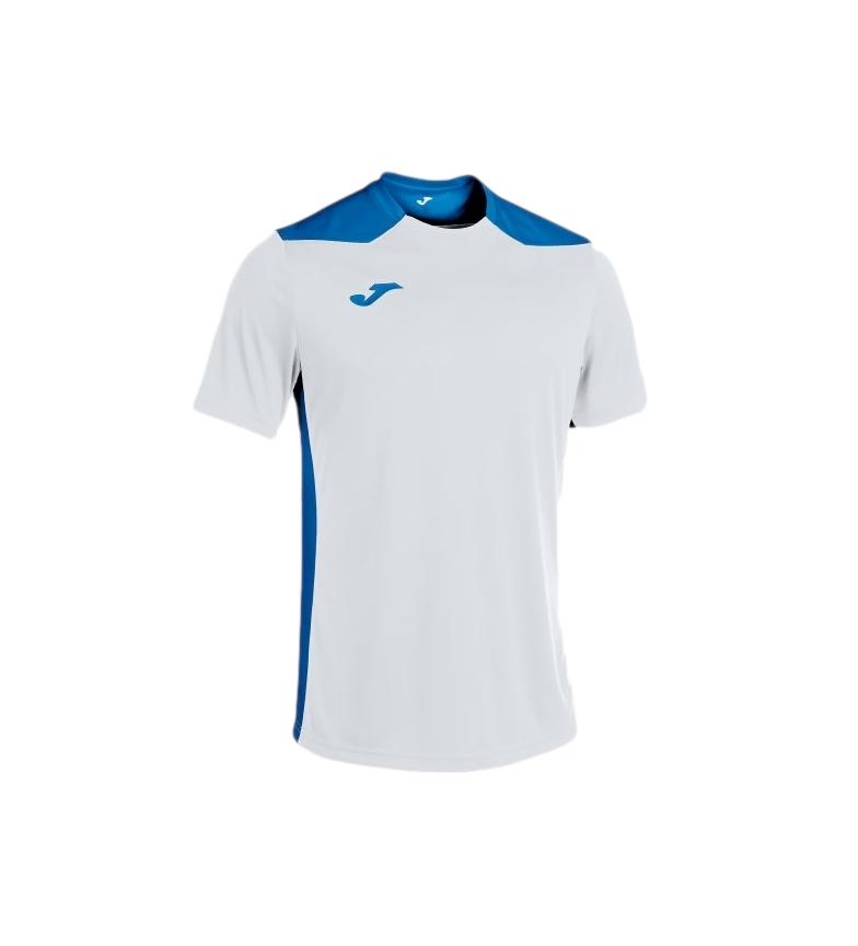 Joma  Camiseta Championship VI Manga Corta blanco, azul