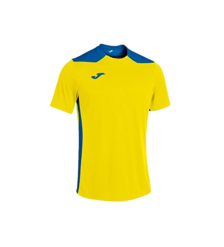 Comprar Joma  Championship VI Short Sleeve T-Shirt yellow, blue