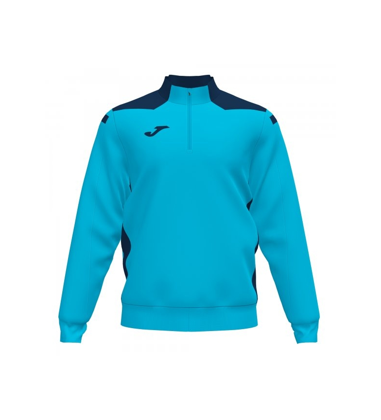 Joma  Sweat-shirt Championship VI turquoise bleu fluo