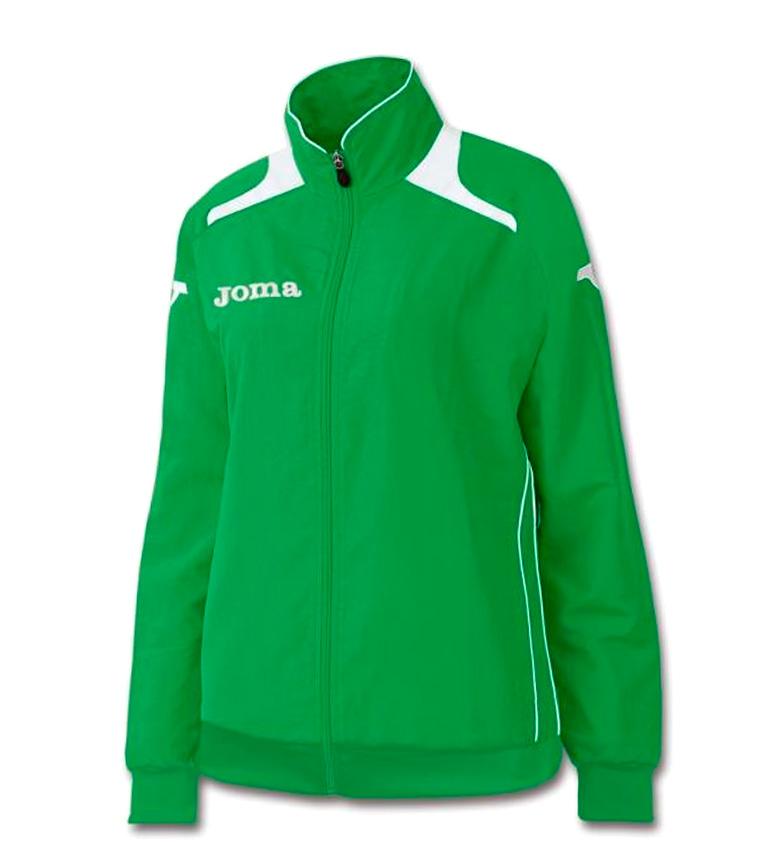 Comprar Joma  Campeão verde Jacket II Poly