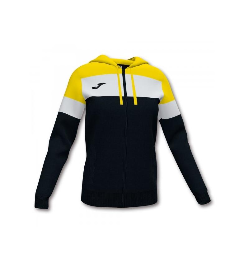 Comprar Joma  Casaco da tripulação com capuz preto, amarelo