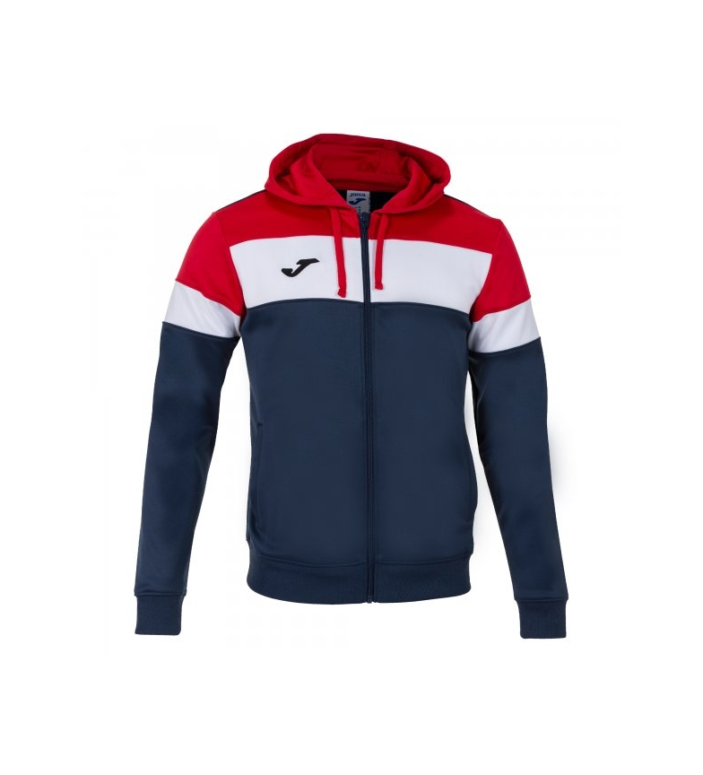 Comprar Joma  Crew IV marine hooded jacket, red