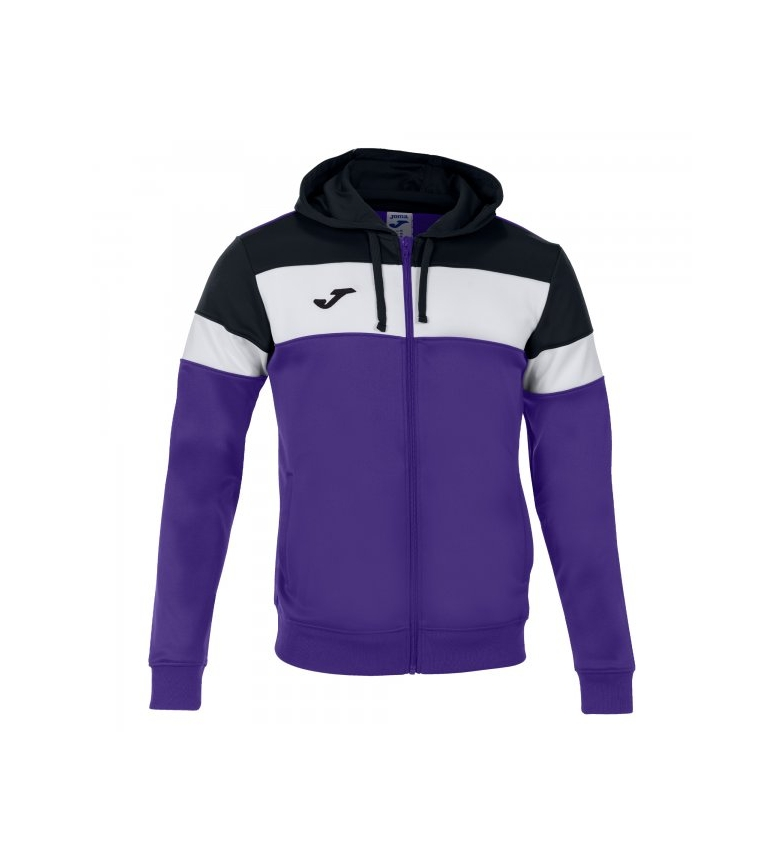 Comprar Joma  Crew IV hooded jacket, lilac, black