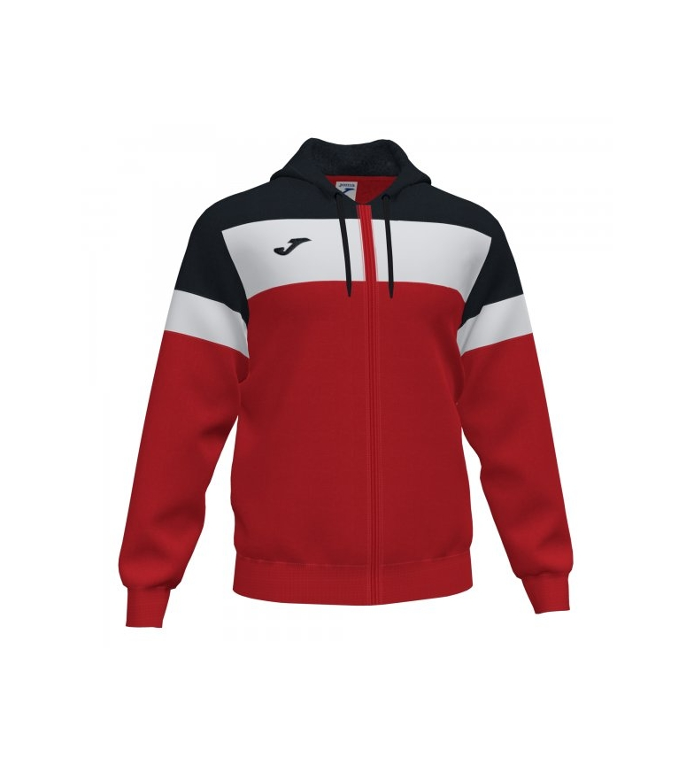 Comprar Joma  Crew IV Hooded Jacket red, navy