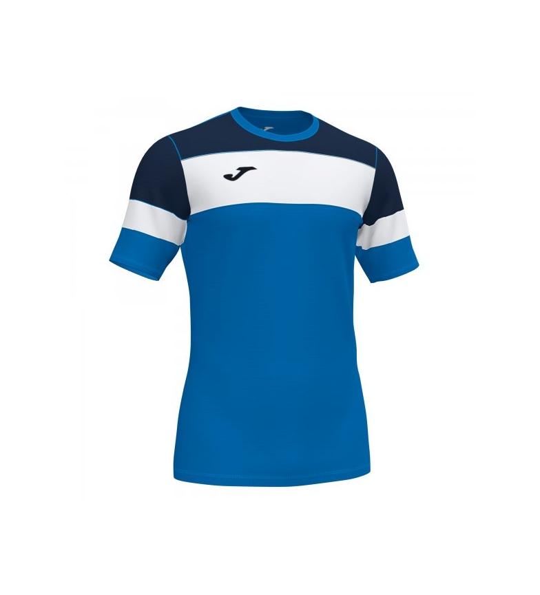 Joma  Camiseta Crew IV azul, negro