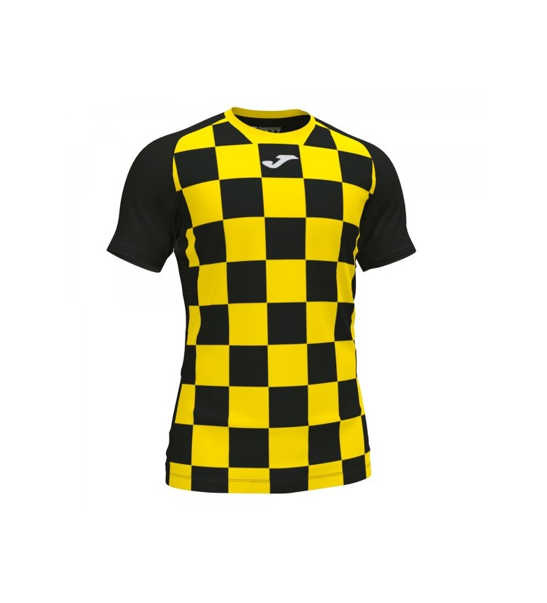 Comprar Joma  T-shirt Flag II black, yellow