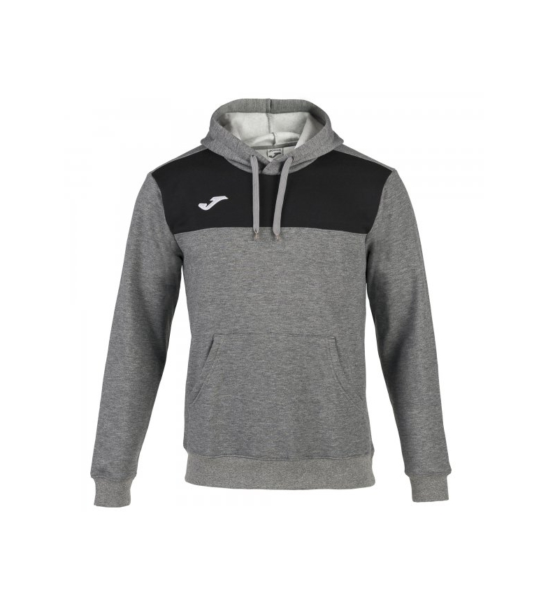 Comprar Joma  Winner Cotton gray-black hooded sweatshirt