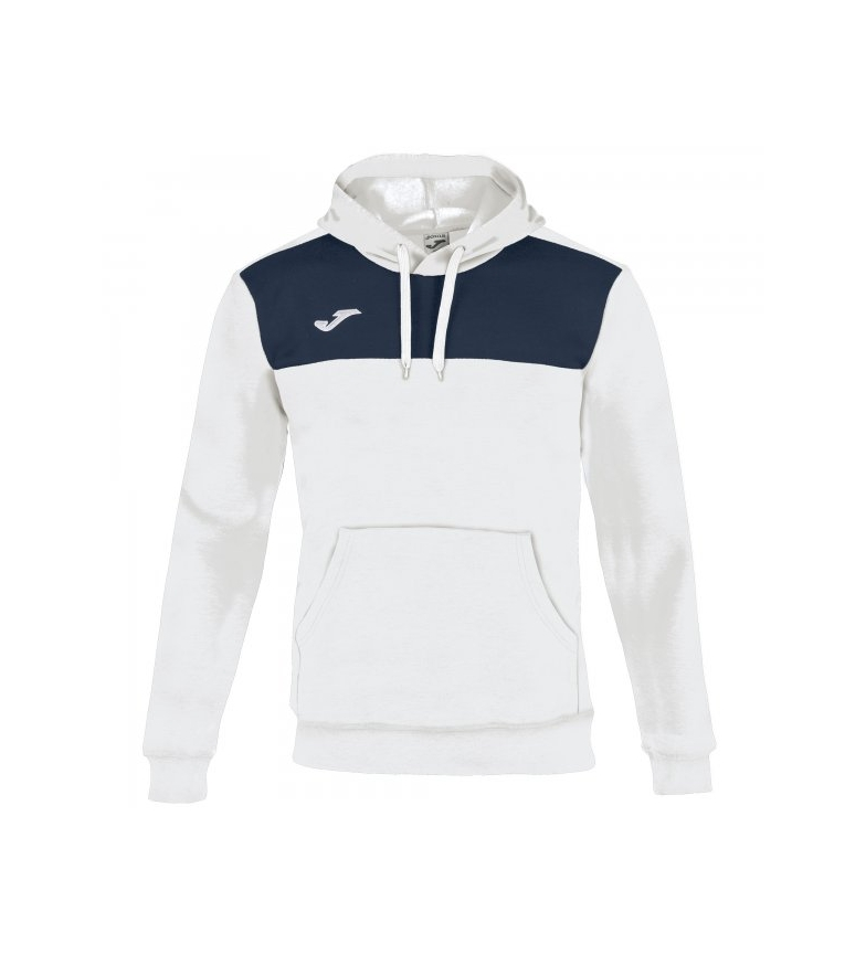 Comprar Joma  WINNER COTTON MARINO-BLANCO HOODED SWEATSHIRT