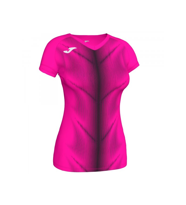 Comprar Joma  T-shirt Olimpia rosa, nera
