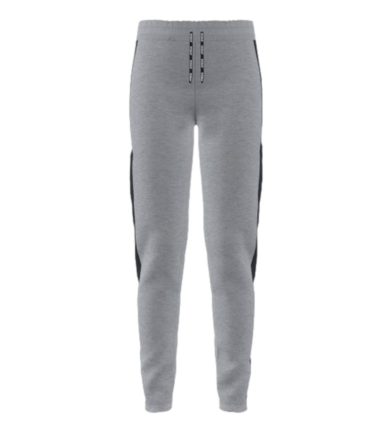 Joma  Pantalon à rayures gris