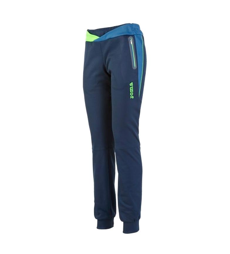 Joma Lange Bukser Elite Svart-blå V gratis frakt bilder qZYRie7Y
