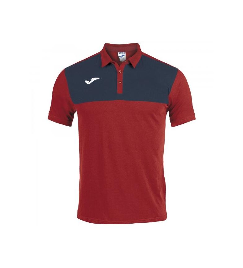 e5c94200754c Comprar Joma Polo Winner Cotton rojo, marino - Esdemarca Store ...
