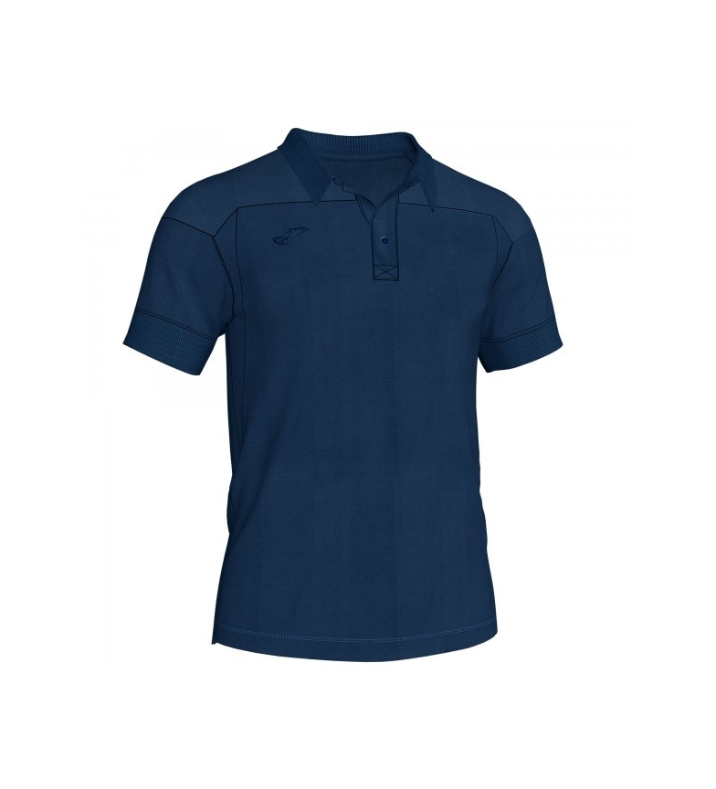 Comprar Joma  Polo Winner II in denim di cotone blu m / c