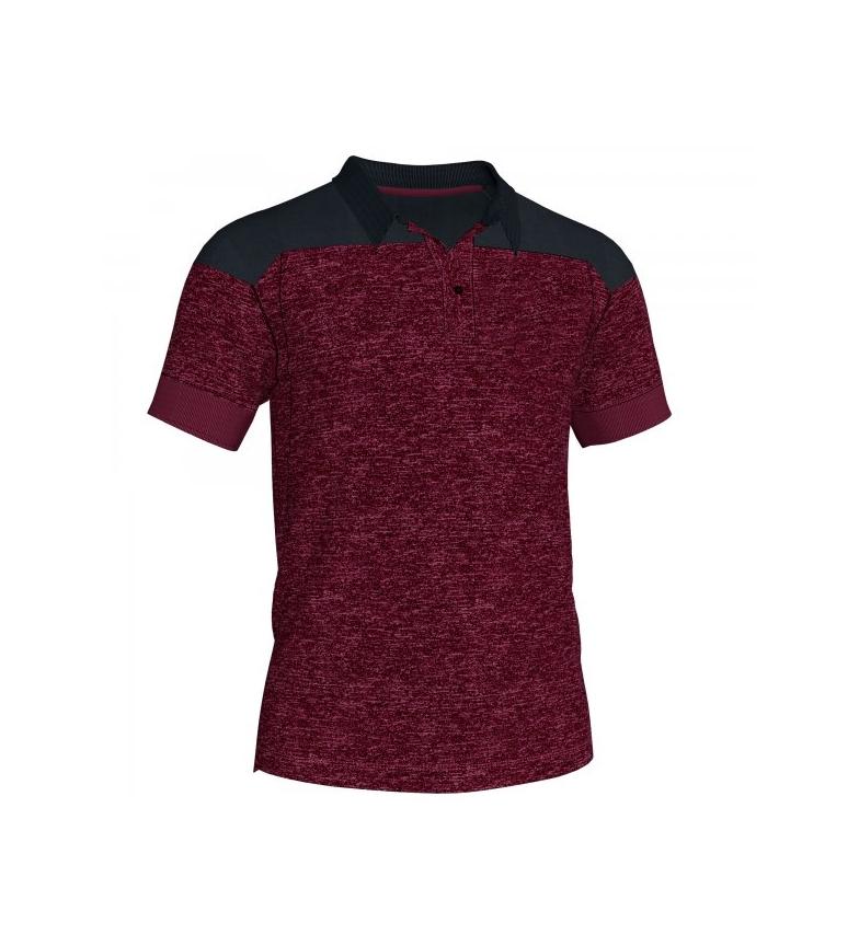 Comprar Joma  Polo Winner II cotton burgundy-black m/c