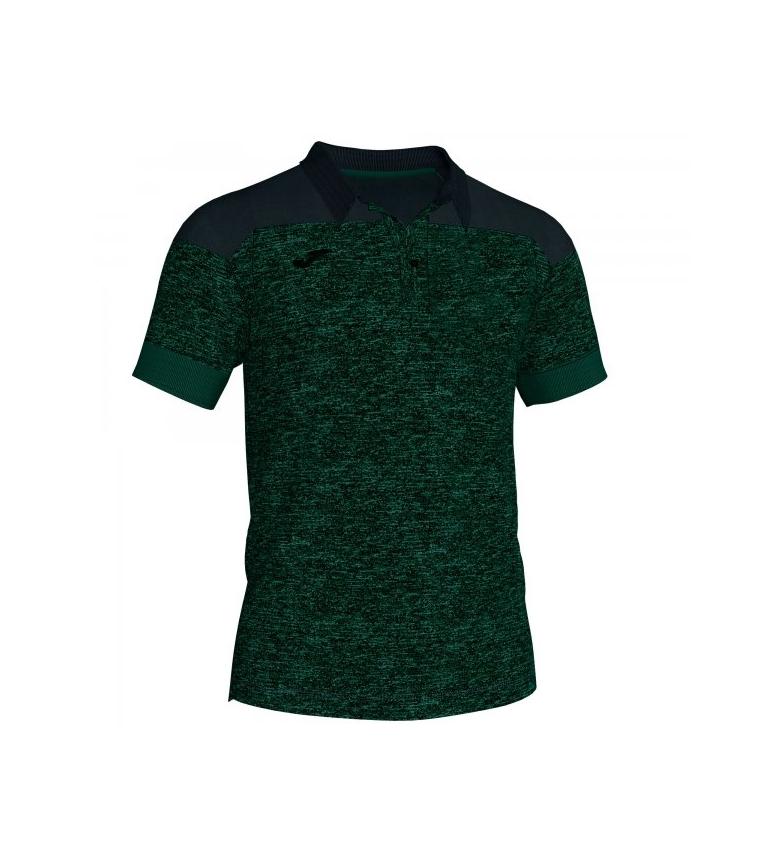 Comprar Joma  Polo in cotone Winner II verde-nero m / c