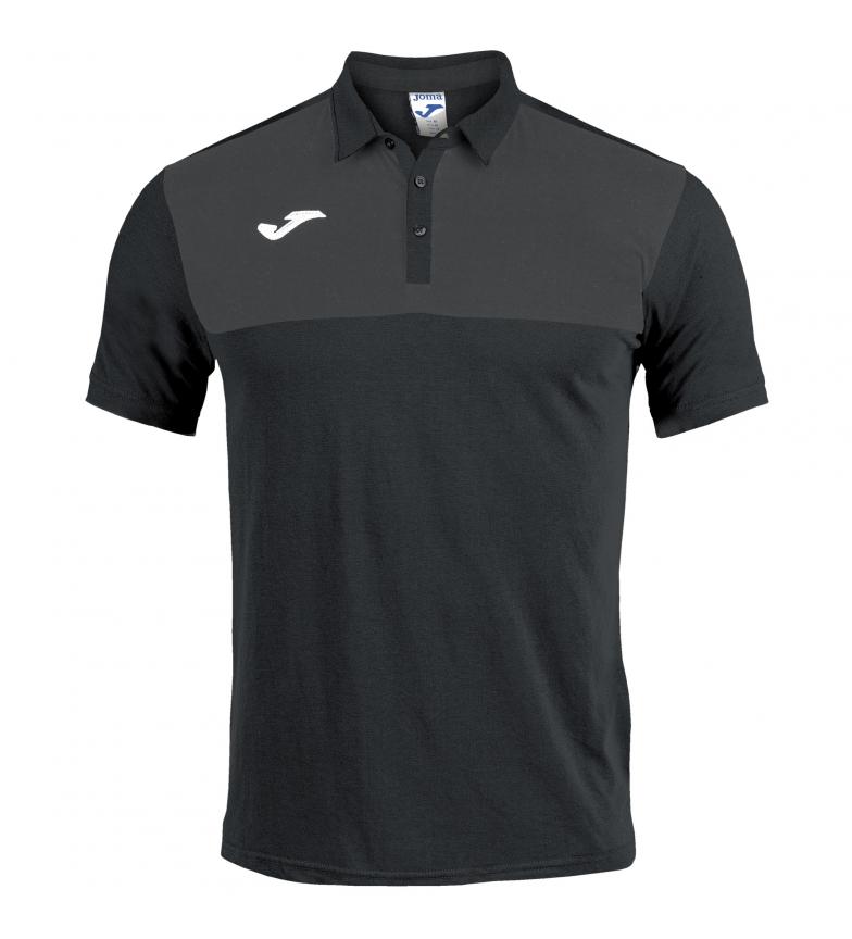 Comprar Joma  Winner Polo Shirt black, anthracite